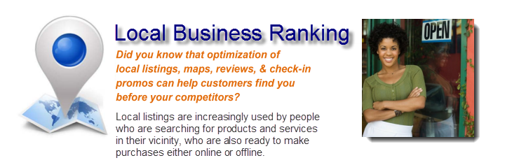 Local Business Ranking chart 1